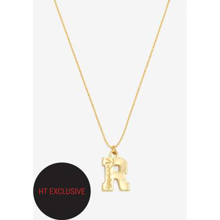 Riverdale Varsity R Necklace Hot Topic Exclusive thumb
