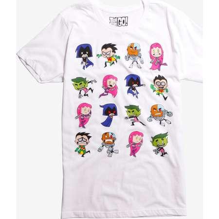 DC Comics Teen Titans Go! Characters T-Shirt thumb