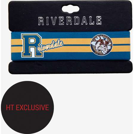 Riverdale High School Varsity Rubber Wristband Hot Topic Exclusive thumb