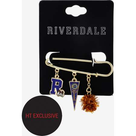 Riverdale Varsity Charms Pin Hot Topic Exclusive thumb