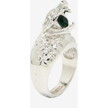 Harry Potter Slytherin Green Stone Snake Ring thumb