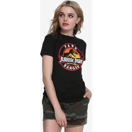 Jurassic Park Ranger Girls T-Shirt thumb