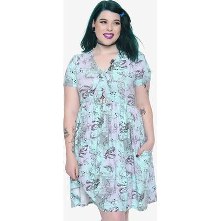 Jurassic Park Dino DNA Dress Plus Size thumb