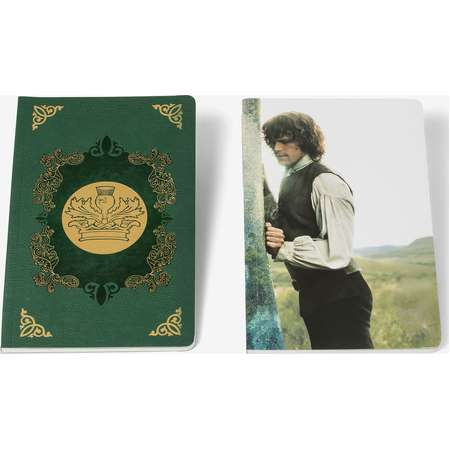 Outlander Jamie & Claire Notebook Set thumb