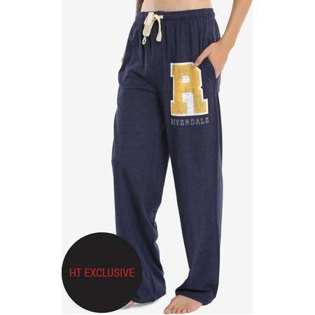 Riverdale Varsity Logo Guys Pajama Pants Hot Topic Exclusive thumb
