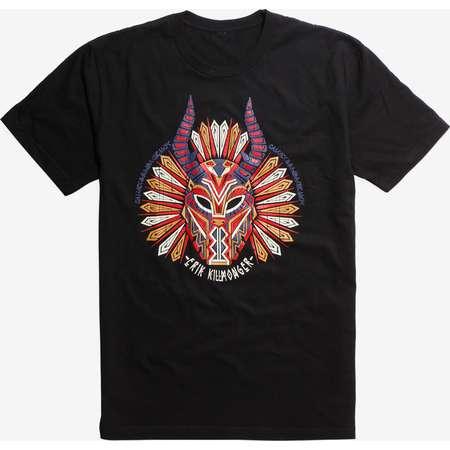 Marvel Black Panther Erik Killmonger Mask T-Shirt thumb