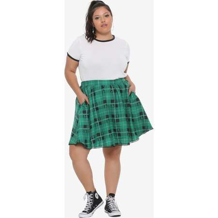 PLUS SIZE SLYTHERIN STUDENT COSTUME thumb