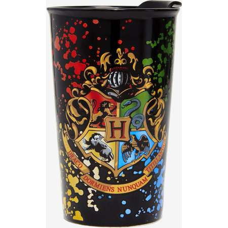 Harry Potter Hogwarts Crest Travel Mug thumb