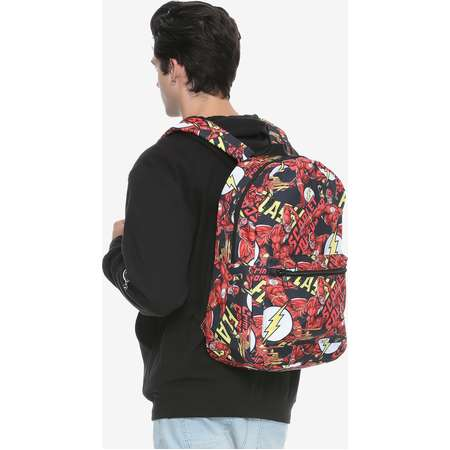DC Comics The Flash Print Backpack thumb