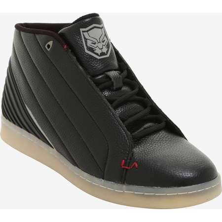 LA Gear Marvel Black Panther Hi-Top Sneakers thumb
