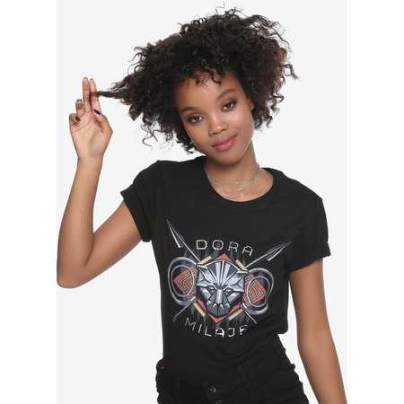 Her Universe Marvel Black Panther Dora Milaje Girls T-Shirt thumb
