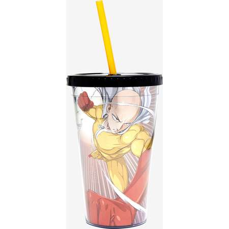 One Punch Man Acrylic Straw Cup thumb