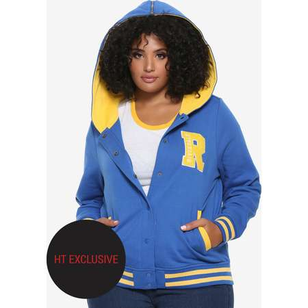 Riverdale Cheer Girls Varsity Jacket Plus Size Hot Topic Exclusive thumb