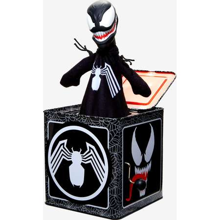 Marvel Venom Jack-In-The-Box Toy Hot Topic Exclusive thumb