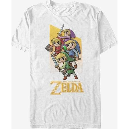 Nintendo Legend of Zelda Four Sword Link T-Shirt thumb