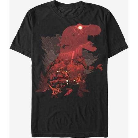 Jurassic Park T. Rex Silhouette T-Shirt thumb