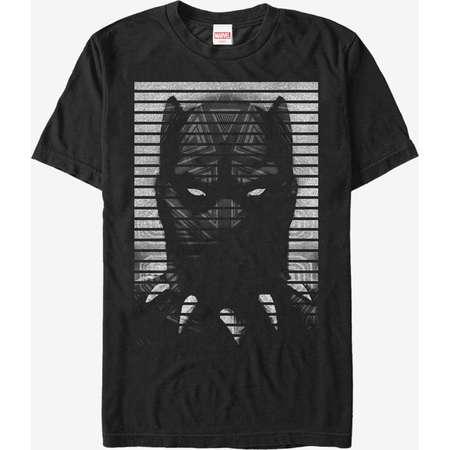 Marvel Black Panther Striped Profile T-Shirt thumb