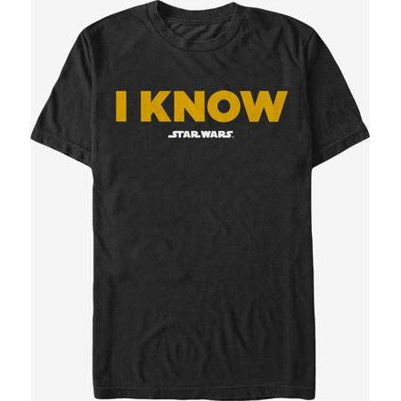Star Wars Han Solo I Know T-Shirt thumb