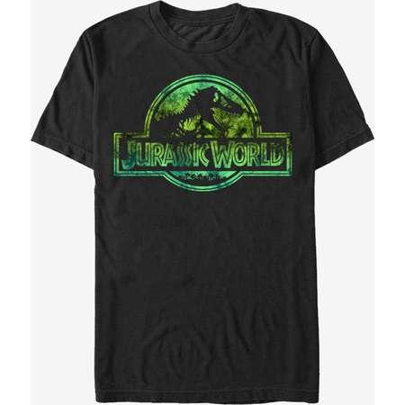 Jurassic Park Logo Tie Dye Print T-Shirt thumb