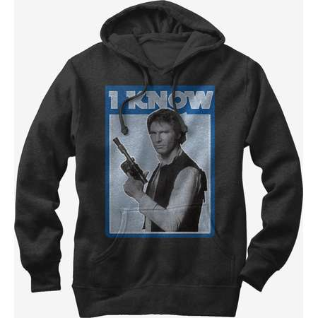 Star Wars Han Solo Quote I Know Girls Hoodie thumb