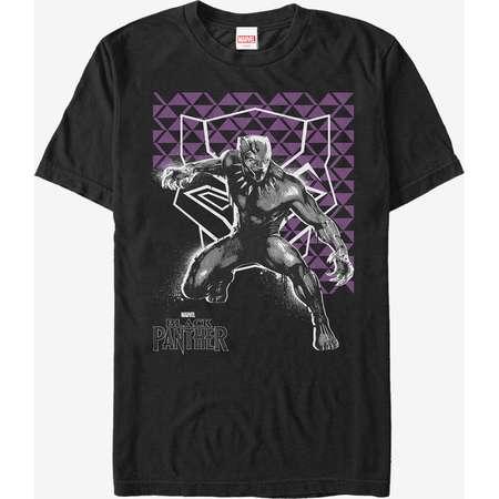 Marvel Black Panther 2018 Geometric Pattern T-Shirt thumb