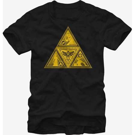 Nintendo Legend of Zelda Triforce Silhouette T-Shirt thumb