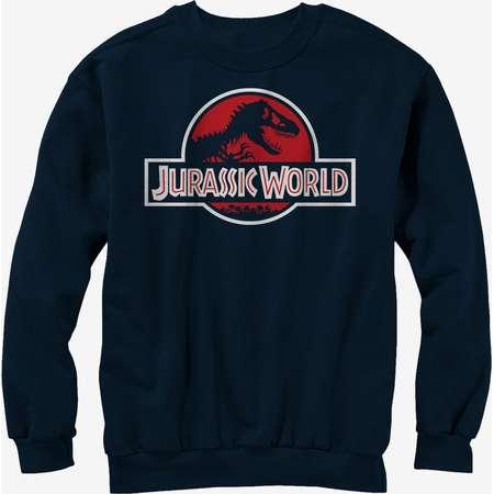 Jurassic Park Classic T Rex Logo Sweatshirt thumb