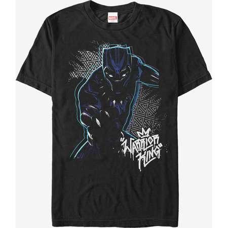 Marvel Black Panther 2018 Triangle Pattern T-Shirt thumb