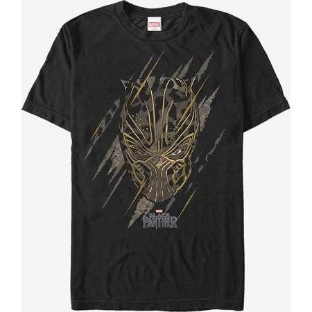 Marvel Black Panther 2018 Jaguar Scratch Print T-Shirt thumb
