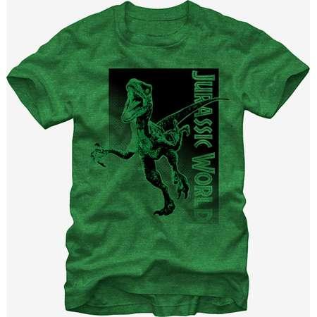 Jurassic Park Velociraptor Attack T-Shirt thumb