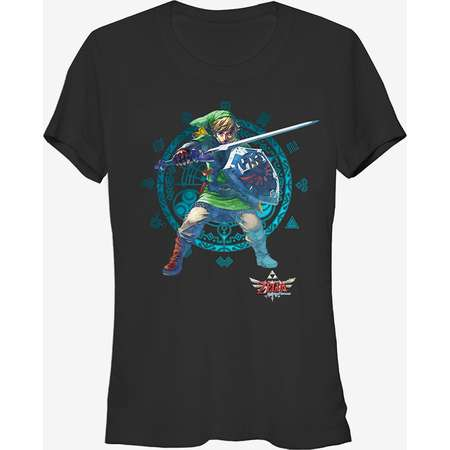 Nintendo Legend of Zelda Master Sword Girls T-Shirt thumb