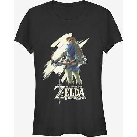 Nintendo Legend of Zelda Breath of the Wild Streak Girls T-Shirt thumb