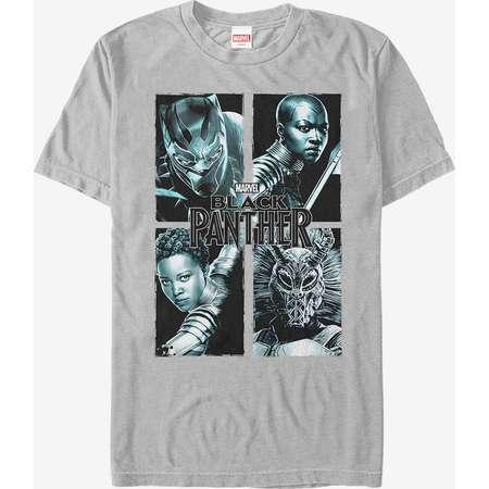 Marvel Black Panther 2018 Character Panel T-Shirt thumb