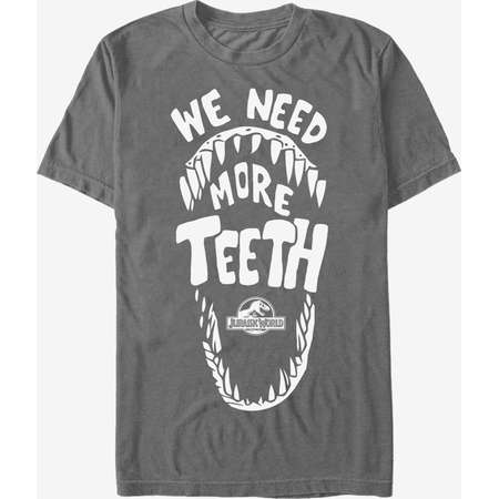 Jurassic Park Need More Teeth T-Shirt thumb