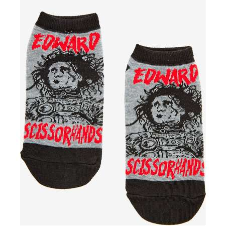 Edward Scissorhands No-Show Socks thumb
