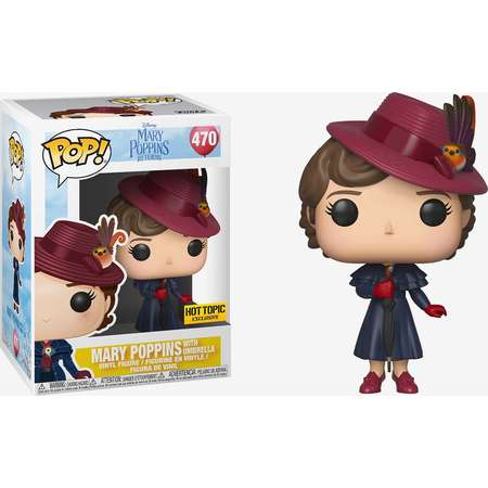 Funko Mary Poppins Returns Pop! Mary Poppins With Umbrella Vinyl Figure Hot Topic Exclusive thumb