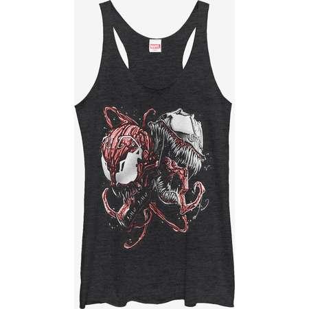 Marvel Carnage and Venom Girls Tanks thumb