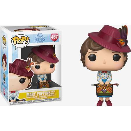 Funko Mary Poppins Returns Pop! Mary Poppins With Bag Vinyl Figure thumb
