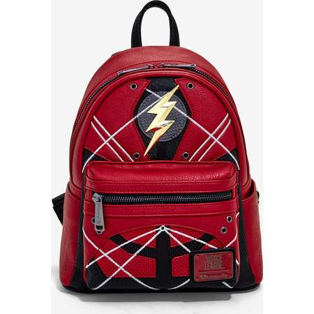 Loungefly DC Comics Justice League The Flash Costume Backpack thumb