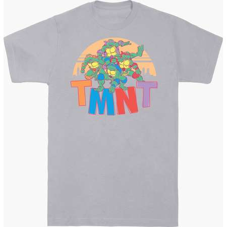 Teenage Mutant Ninja Turtles Group Sunset T-Shirt thumb