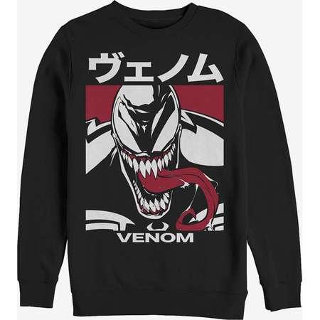 Marvel Venom Japanese Kanji Character Sweatshirt thumb