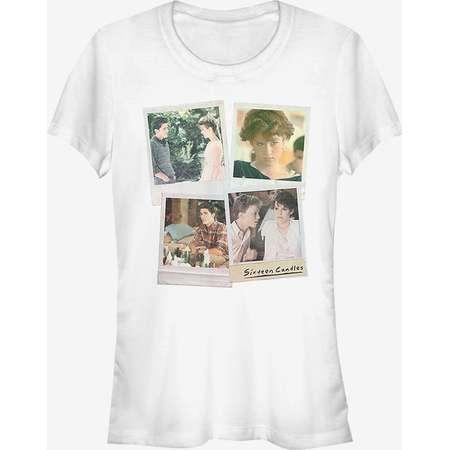 Sixteen Candles Character Polaroids Girls T-Shirt thumb