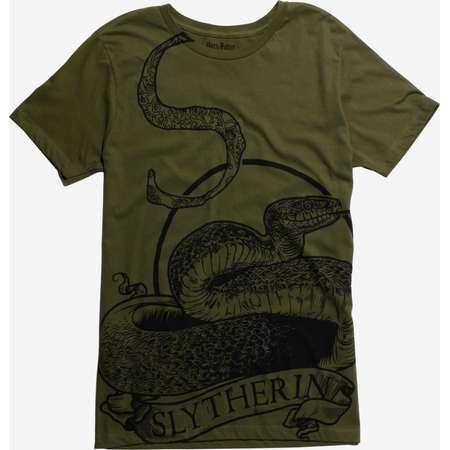 Harry Potter Slytherin Belt Print T-Shirt thumb