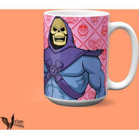 Skeletor Mug    gifts for MOTU lovers 80s kids toys He-Man's rival masters of the universe thumb