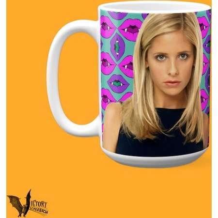 Buffy Summers Mug Buffy the Vampire Slayer TV gifts for her Girlfriend gifts supernatural Feminist girl power Sarah Michelle Gellar thumb