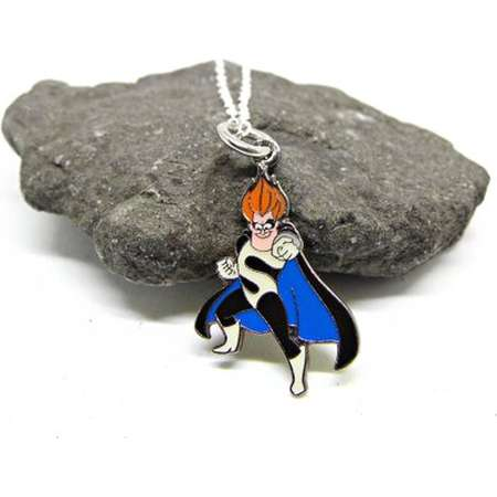 e840ae9aac5 Disney Pixar The Incredibles Syndrome Pendant Necklace Disney Gift Disney  Inspired Necklace thumb