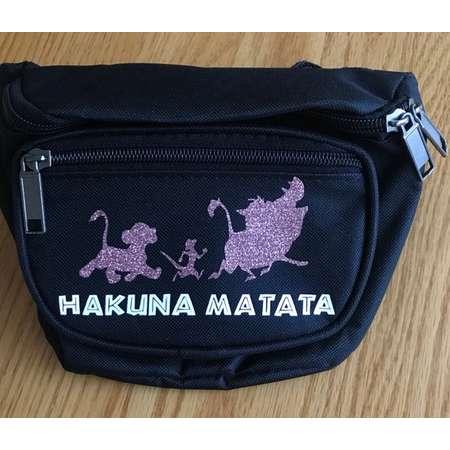 Lion King Fanny Pack // Hakuna Matata // The Lion King thumb