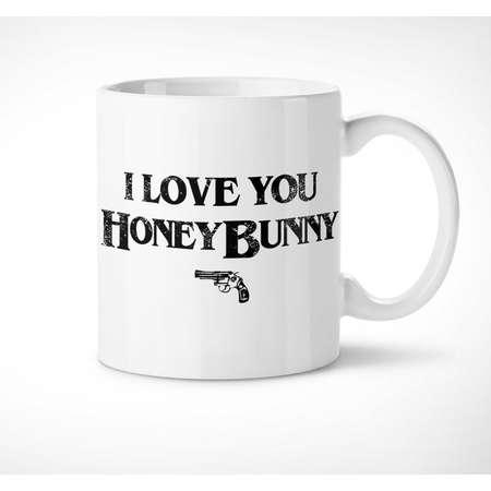 Pulp Fiction > Honey Bunny - Exclusive Mug // i love you, movie, quote, pumpkin, gift, couples, him, her, love, film, cup, tarantino, tasse thumb