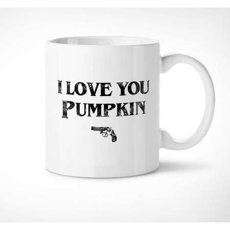 Pulp Fiction > Pumpkin - Exclusive Mug // i love you, movie, quote, honey bunny, gift, couples, him, her, love, film, cup, tarantino, tasse thumb