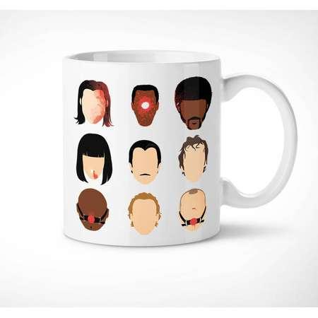 Pulp Fiction - Exclusive Mug // quentin tarantino, cup, jack rabbit, jules, mia wallace, vincent vega, butch, zed, mr wolf, gangster, tasse thumb